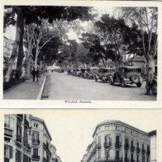 Postales: SIETE POSTALES DE MALAGA-EDICIÓN L. ROISIN-SEIS DE ELLAS NUEVAS-UNA CIRCULADA-VER FOTO ADICIONAL .. Lote 228849870