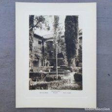 Postales: GRAN FOTOGRAFIA/FOTOTIPIA IMPRESA ALHAMBRA GRANADA FOTO OTTO WUNDERLICH. Lote 229750765