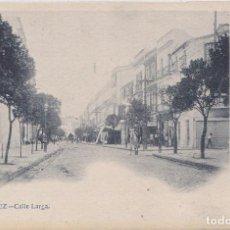 Postales: JEREZ (CADIZ) CALLE LARGA. Lote 229784245