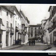 Postales: POSTAL DE ALCALA LA REAL (JAEN) CALLE DE JOSE ANTONIO PRIMO DE RIVERA 1930/40 Nº 4. Lote 229880490