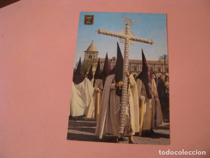 POSTAL DE SEMANA SANTA DE SEVILLA. DOMINGUEZ. CRUZ DE GUIA. (MACARENA). (Postales - España - Andalucia Moderna (desde 1.940))
