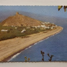 Cartoline: CASTELL DE FERRO - PLAYA DEL SOTILLO - AL FONDO EL CASTILLO - GRANADA - P40858. Lote 231780660