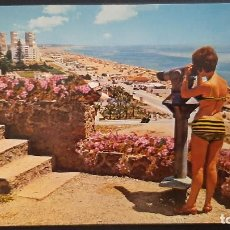 Cartoline: LOTE 050121- 54 POSTAL TORREMOLINOS MALAGA PLAYA VISTA PARCIAL. GARRABELLA. Lote 233715980