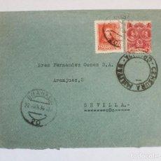 Postales: CARTA CON FRANQUEO SELLO Nº 844 30CTS. Y 5 CTS CARIDAD GRANADINA DE ALRANJUEZ SEVILLA 1934. Lote 233763625