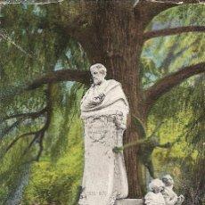 Postales: SEVILLA - EXPOSICION HISPANO AMERICANA - PARQUE DE MARIA LUISE MONUMENTO A BEQUER. Lote 233828105