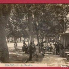 Postales: MALAGA LA RAMBLA POSTAL FOTOGRAFICA ANDRES FABERT. Lote 233888115