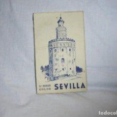 Postales: BLOC POSTAL: SEVILLA. 2ª SERIE COLOR. 10 POSTALES EN ACORDEON. HELIOTIPIA ARTISTICA ESPAÑOLA. Lote 236396180
