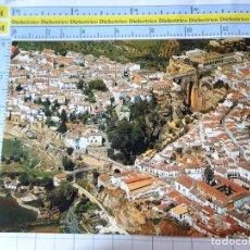 Postales: POSTAL DE MÁLAGA. RONDA. AÑO 1968. VISTA PANORÁMICA. 23 . 429. Lote 236460485