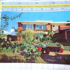 Postales: POSTAL DE MÁLAGA. TORREMOLINOS. AÑO 1963. BUNGALOWS BAHÍA MONTEMAR. 873 VALMAN. 439. Lote 236461065