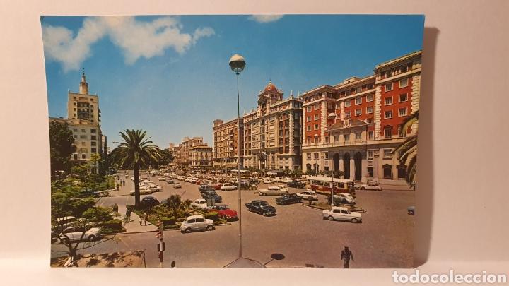 1410. MALAGA/ PLAZA QUEIPO DE LLANO/ SIN CIRCULAR/ (D.228) (Postales - España - Andalucia Moderna (desde 1.940))