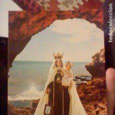 Postales: VIRGEN CARMEN RINCON VICTORIA MALAGA ED BAENA 1342 SC. Lote 237400450