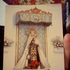 Postales: VIRGEN CARMEN RINCON VICTORIA MALAGA ED MANE 1385 SC. Lote 237400585