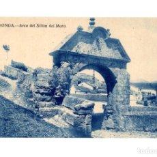 Postales: RONDA.(MÁLAGA).- ARCO DEL SILLÓN DEL MORO.. Lote 237571515
