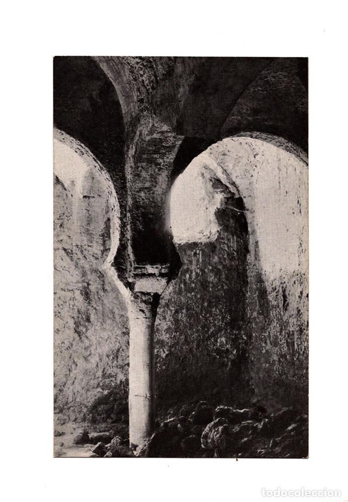 RONDA.(MÁLAGA).- TERMAS ARABES. IMPRENTA ALEMANA. (Postales - España - Andalucía Antigua (hasta 1939))