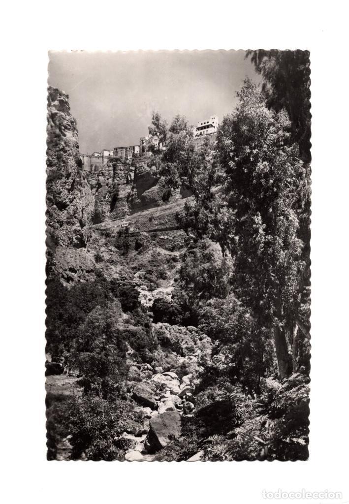 RONDA.(MÁLAGA).- EL TAJO. (Postales - España - Andalucía Antigua (hasta 1939))