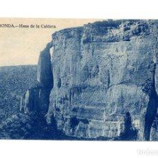 Postales: RONDA.(MÁLAGA).- HASA DE LA CALDERA.. Lote 237574535