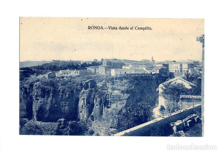 RONDA.(MÁLAGA).- VISTA DESDE EL CAMPILLO. (Postales - España - Andalucía Antigua (hasta 1939))
