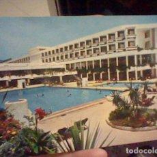 Postales: ESTEPONA MALAGA BANCO ESPAÑOL RESIDENCIA SAN JAIME ED VISTABELLA 13 ESCRITA ANIMADA PISCINA. Lote 237579365