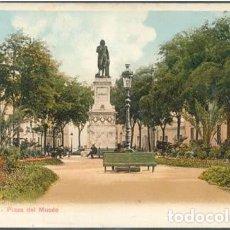 Postales: POSTAL SEVILLA PLAZA DEL MUSEO ED. STENGEL ?? SIN DIVIDIR. Lote 237982830