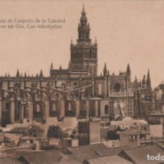 Postales: POSTAL SEVILLA - VISTA DE CONJUNTO DE LA CATEDRAL DESDE LA TORRE DEL ORO CON TELEOBJETIVO - MARGARA. Lote 240396735
