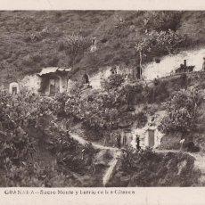 Cartes Postales: GRANADA, SACRO MONTE Y BARRIO DE GITANOS. ED. FOTO ROISIN Nº 138. SIN CIRCULAR. Lote 241534690