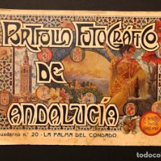 Postales: PORTFOLIO DE ANDALUCÍA. LA PALMA DEL CONDADO. N. 20. BARCELONA. ALBERTO MARTÍN EDITOR. [1914-18 H.]. Lote 242310200