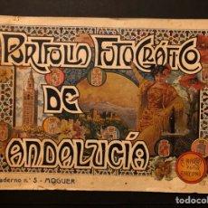 Postales: PORTFOLIO DE ANDALUCÍA. MOGUER. N. 5. BARCELONA. ALBERTO MARTÍN EDITOR. [1914-18 H.]. Lote 242310435