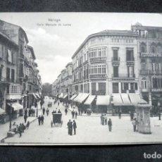 Postales: POSTAL - MALAGA - CALLE MARQUÉS DE LARIOS - ED. DOMINGO DEL RIO - ESCRITA Y CON SELLOS. Lote 243248175