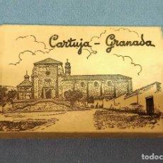 Postales: ANTIGUO ESTUCHE Nº 9 DE 15 POSTALES EN ACORDEON DE LA CARTUJA DE GRANADA DE GARCIA GARRABELLA. Lote 243859555