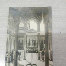Postales: POSTAL N39 GRANADA ALHAMBRA PATIO DE LOS LEONES. Lote 243868950