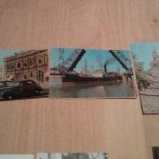 Postales: LOTE DE 3 TARJETA POSTAL MATRIZADA DE SEVILLA SOBRE 1950. Lote 243883155