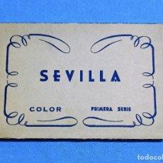 Postales: ANTIGUO ESTUCHE DE 10 POSTALES EN ACORDEON DE SEVILLA. Lote 243977450