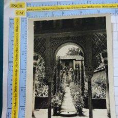 Postales: POSTAL DE GRANADA. AÑOS 30 50. JARDINES DEL GENERALIFE. . 3423. Lote 244442185