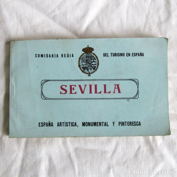 TACO 12 POSTALES DE SEVILLA COMISARIA REGIA DEL TURISMO EN ESPAÑA, ARTÍSTICA, MONUMENTAL PINTORESCA (Postales - España - Andalucía Antigua (hasta 1939))