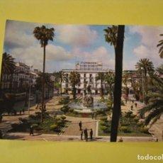 Postales: POSTAL DE JEREZ DE LA FRONTERA. PLAZA DE LOS REYES CATOLICOS. ED. GARCIA GARRABELLA. ESCRITA.. Lote 244606720