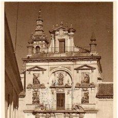 Postales: Nº 30-SANTA CARIDAD. SEVILLA. FACHADA DE LA IGLESIA (SIGLO XVII). SIN CIRCULAR.. Lote 244936505