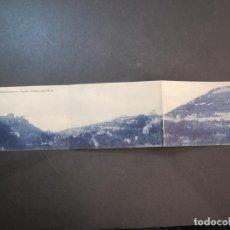 Postales: GRANADA-1-2-3-VISTA PANORAMICA ALHAMBRA, GRANADA Y SACRO MONTE-POSTAL TRIPLE-VER FOTOS-(77.836). Lote 245089185