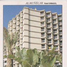Postales: ALMUÑECAR (GRANADA) HOTEL CHINASOL, PASEO DE SAN CRISTOBAL - RCKPUBLICIDAD Nº18 - S/C - (11X16). Lote 245297400