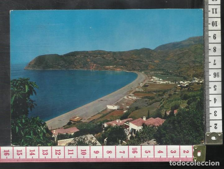 ST 346 LA HERRADURA COSTA DEL SOL PLAYA Y CERRO GORDO GRANADA EDICIONES BARBERO 9 AÑO 1965 (Postales - España - Andalucía Antigua (hasta 1939))