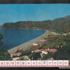 Postales: ST 346 LA HERRADURA COSTA DEL SOL PLAYA Y CERRO GORDO GRANADA EDICIONES BARBERO 9 AÑO 1965. Lote 245736165