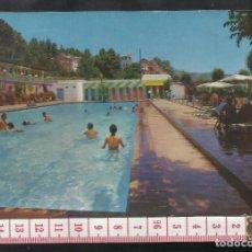 Postales: ST 349 LANJARON PISCINA DEL CASTILLO GRANADA EDICIONES KOLOR ZERKOWITZ 3 AÑO 1963. Lote 245736585