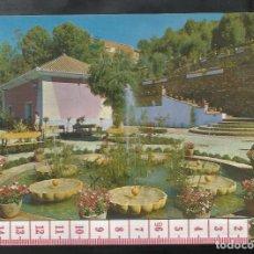 Postales: ST 353 LANJARON JARDINES Y MANANTIAL CAPUCHINA GRANADA EDICIONES A. ZERKOWITZ 561 AÑO 1965. Lote 245737305