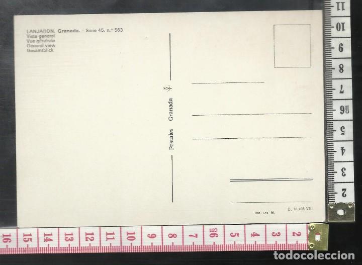 Postales: ST 355 LANJARON GRANADA AÑO 1965 - Foto 2 - 245737575