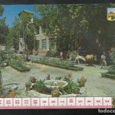 Postales: ST 356 LANJARON JARDINES Y FACHADA MANANTIALES GRANADA EDICIONES A. ZERKOWITZ 564 AÑO 1965. Lote 245737700