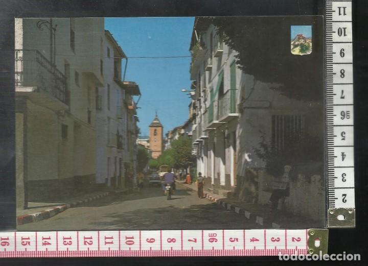 ST 358 LANJARON CALLE PRINCIPAL GRANADA EDICIONES A. ZERKOWITZ 1174 AÑO 1980 (Postales - España - Andalucía Antigua (hasta 1939))