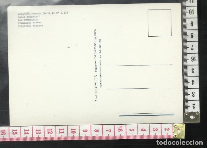 Postales: ST 358 LANJARON CALLE PRINCIPAL GRANADA EDICIONES A. ZERKOWITZ 1174 AÑO 1980 - Foto 2 - 245737855