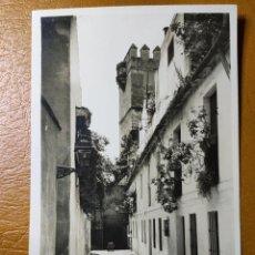 Postales: POSTAL DE SEVILLA. CALLEJÓN DE LA JUDERÍA.. Lote 246135030