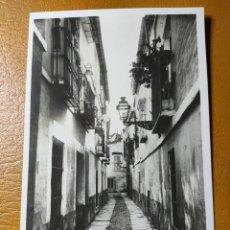 Postales: POSTAL DE SEVILLA. BARRIO DE SANTA CRUZ. ED. LINARES.. Lote 246136370
