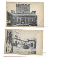 Postales: LOTE 24 POSTALES DE GRANADA ALHAMBRA LAURENT PRINCIPIOS SIGLO XX. Lote 247716370