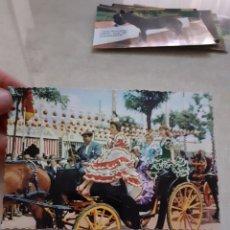 Postales: ANTIGUA POSTAL FERIA SEVILLA ESCRITA. Lote 247753225